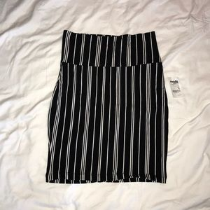 Black/White Striped Skirt (Charlotte Russe)
